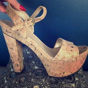 "Stuart Weitzman ""Once"" platform sandals 👡"